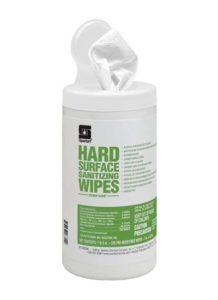 Hard Surface sanitizing wipes Productos sanitizantes